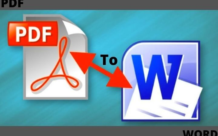 How To Convert PDF Into Word?