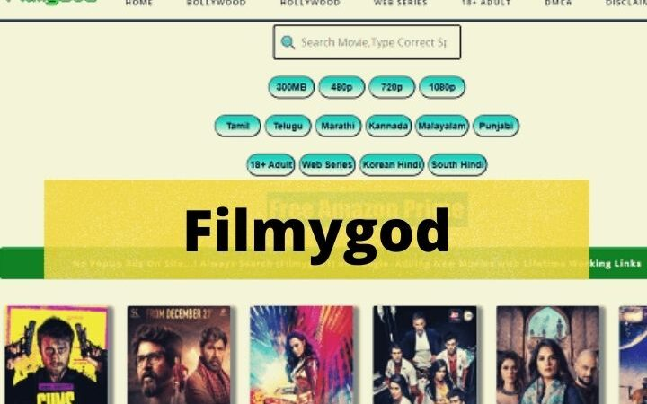 Filmygod (2021) – Download Unlimited Popular Hollywood, Bollywood And Dubbed Movies For Free