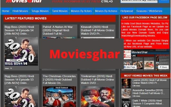 Moviesghar (2021) – Download Latest HD Bollywood, Hollywood Movies [UPDATED]